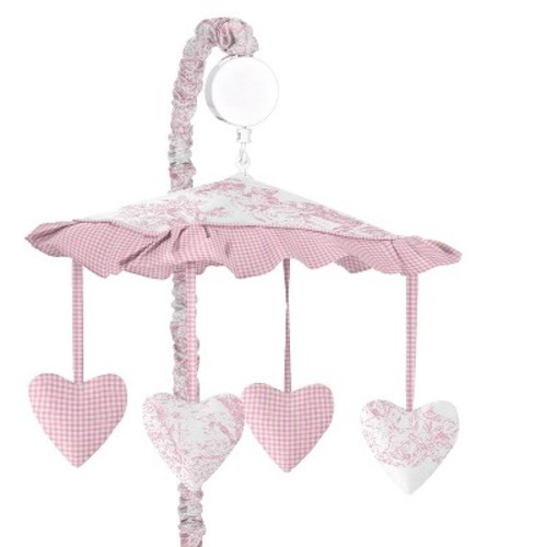 Sweet Jojo Designs Toile Musical Mobile - Pink