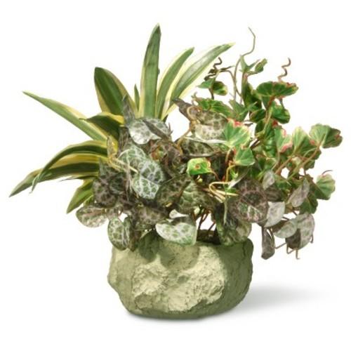 Artificial Table Plant in Ceramic Pot Green 21