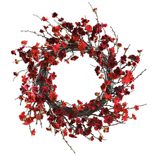 24 Plum Blossom Wreath - JCPenney