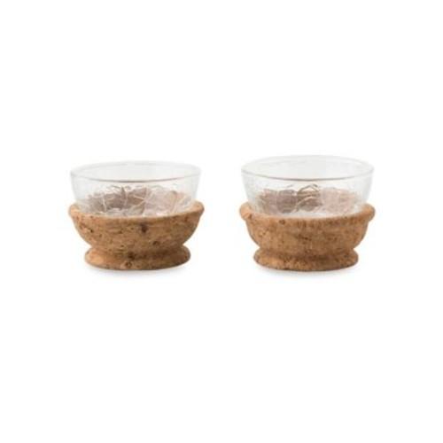 Set of Two Quinta Hugo Natural Pinch Bowls