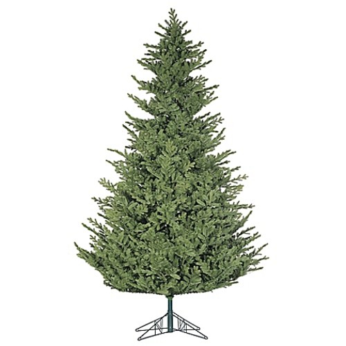 Fraser Hill Farm 12-Foot Foxtail Pine Artificial Christmas Tree