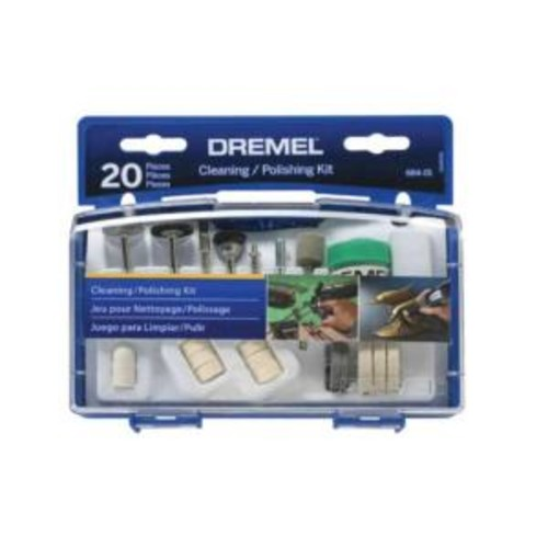 Dremel Cleaning/Polishing Accessory Set (20-Piece)