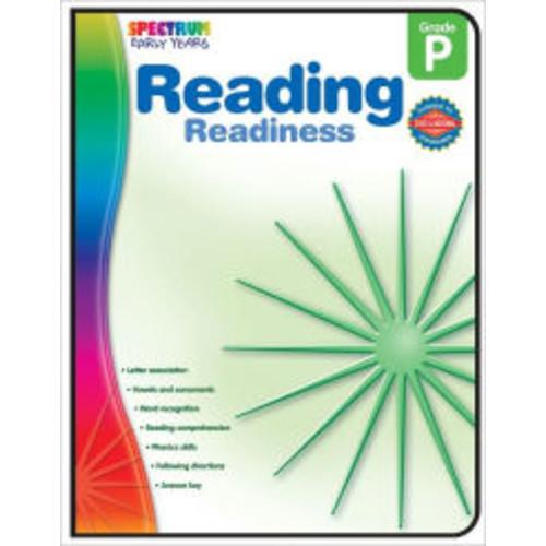 Spectrum Reading Readiness, Grade Pre K