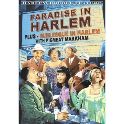 Harlem Double Feature: Paradise in Harlem/Burlesque in Harlem [DVD]