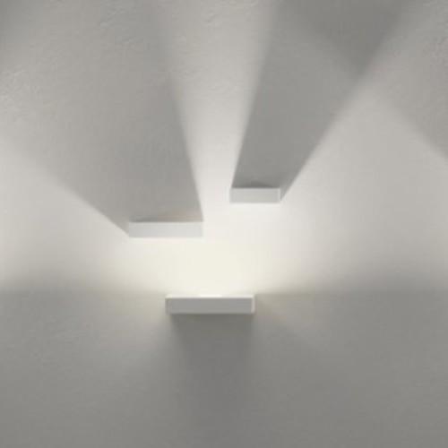 Set LED Wall Art [Option : LED Block Only; Finish : Off-White matte]