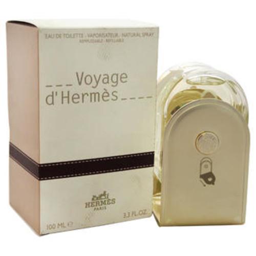 Hermes Voyage D'Hermes by Hermes for Unisex - 3.3 oz EDT Spray (Refillable)