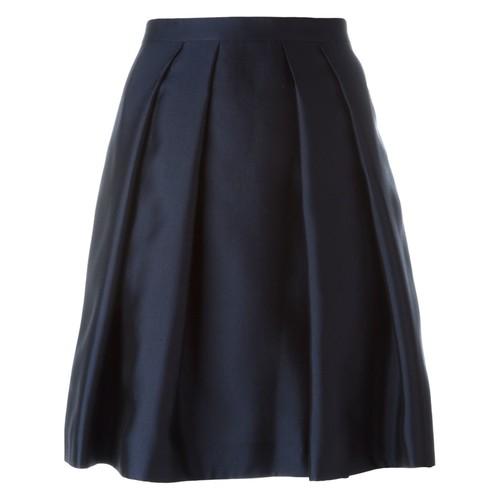 BURBERRY Pleated Mini Skirt