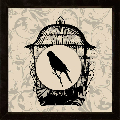 Birds 2 Piece Framed Graphic Art Set