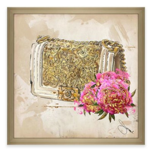 BY Jodi Coco In Gold Framed Canvas Wall Art