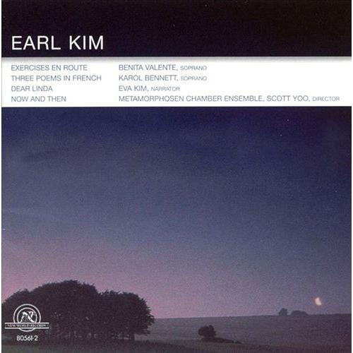Earl Kim: Vocal Works [CD]