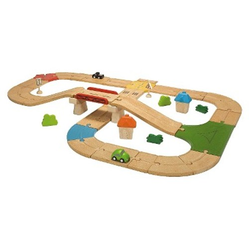 PlanToys Roadway Set