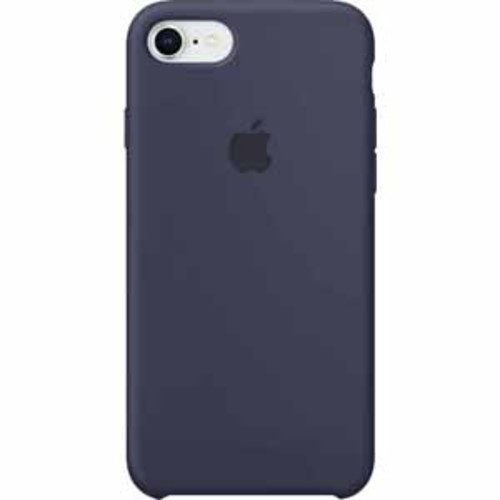 Apple Silicone Case for iPhone 8/7 - Midnight Blue
