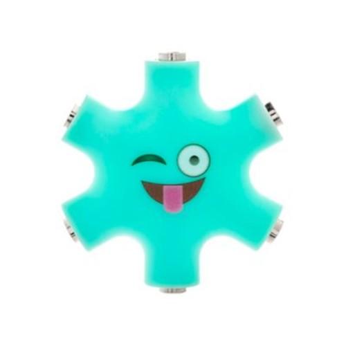 5 Way Headphone Splitters - Blue