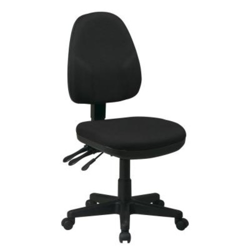 Work Smart Black Office Chair