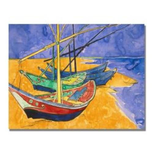 Trademark Fine Art 24 in. x 32 in. Montagne Sainte-Victoire IV Canvas Art