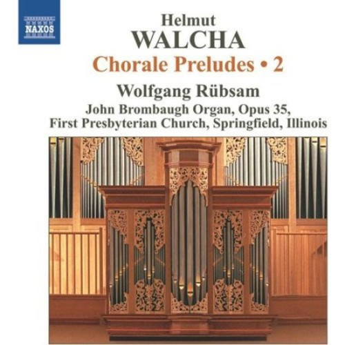 Walcha:chorale Preludes Vol 2 CD (2012)
