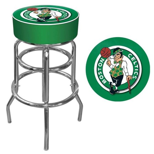 Trademark Boston Celtics NBA Padded Swivel Bar Stool
