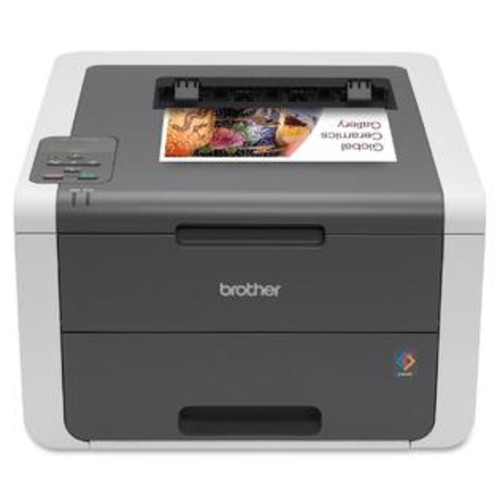 Brother HL-3140CW - COLOR PRINTER - COLOR - LED - BLACK: UP TO 19PPM. COLOR: UP TO 19PPM