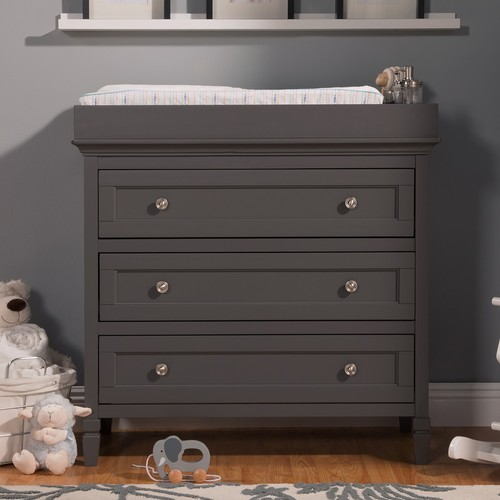 DaVinci Perse 3-Drawer Changer Dresser with Changing Tray - Slate