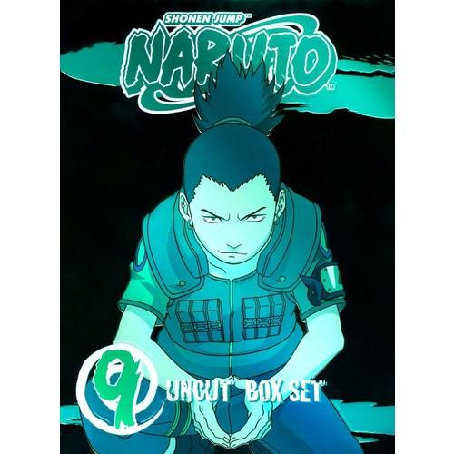Naruto Uncut Box Set, Vol. 9 [3 Discs] [DVD]
