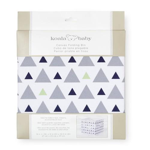 Koala Baby Canvas Folding Bin - Triangle
