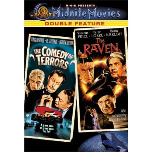Midnite Movies Double Feature: The Comedy of Terrors / The Raven