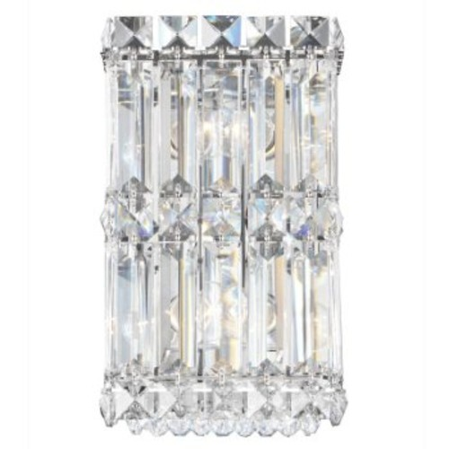 Quantum 2235 Wall Sconce [Crystal Type : SPECTRA Clear; Finish : Polished Chrome]