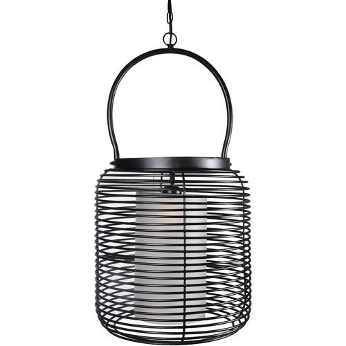 Kenroy Home Foundry 1-Light Pendant, Black