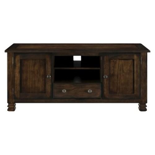 Summit Mountain Wood Veneer 55 TV Stand - Espresso - Ameriwood Home