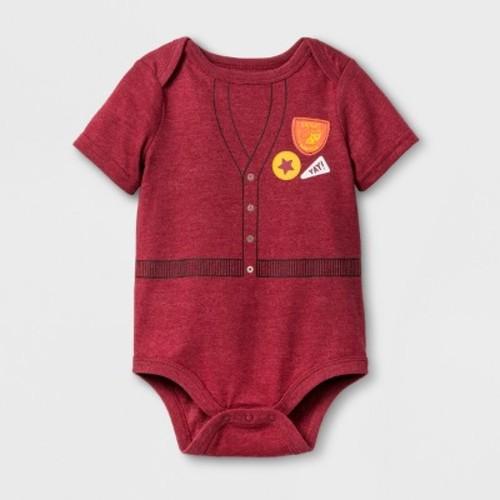 Baby Boys' Short Sleeve Expert Napper Bodysuit - Cat & Jack Red
