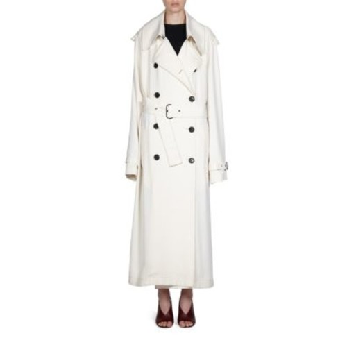 ACNE STUDIOS Double-Breasted Trench Coat