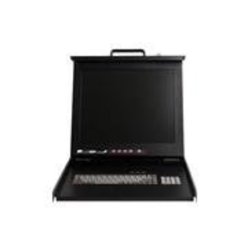 StarTech 1U 17 Rackmount LCD Console with Integrated 16 Port KVM Switch - U45626