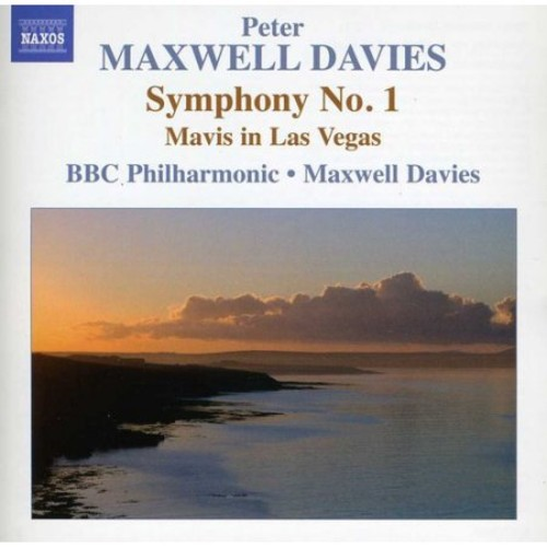 Peter Maxwell Davies: Symphony No. 1; Mavis in Las Vegas [CD]