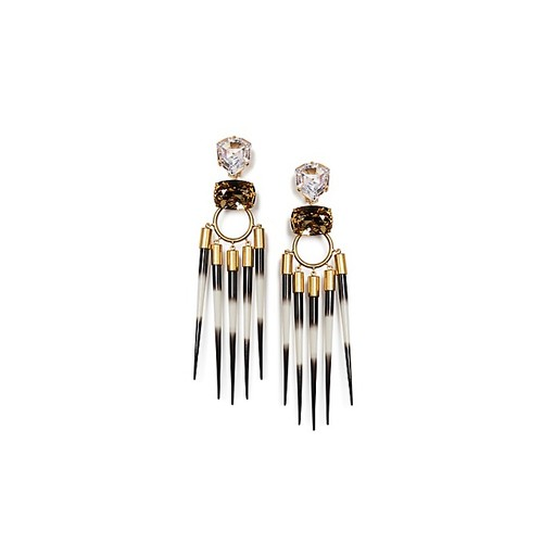 HANGING STATEMENT EARRING