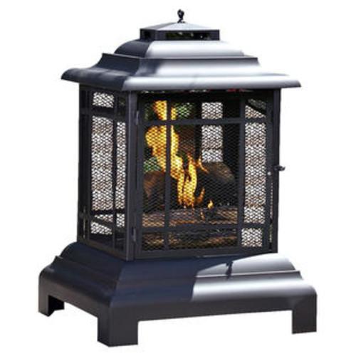 Fire Sense Patio Pagoda Fireplace