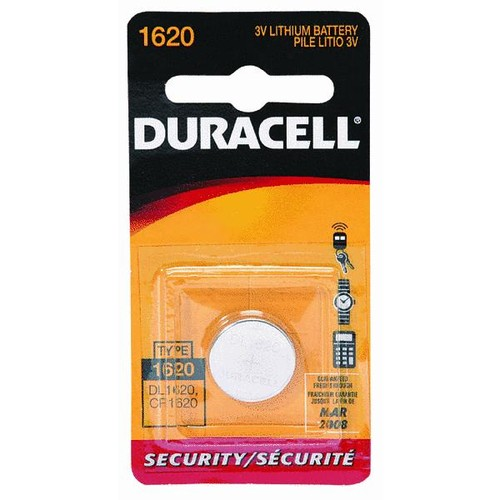 Duracell 1620 Lithium Coin Cell Battery - 43687