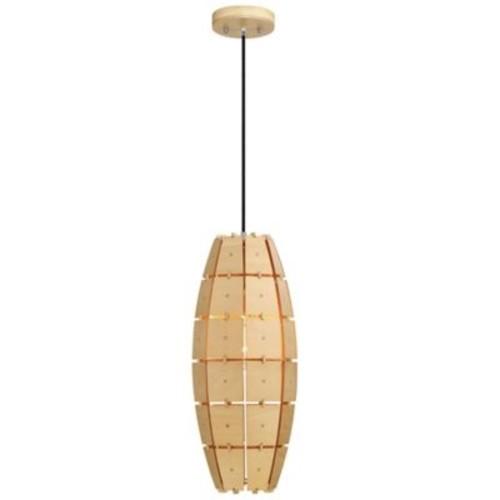 Varaluz Wooda Coulda Shoulda Ceiling Tall Pendant in Birch