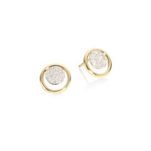 Affair Diamond Micro Infinity Loop Stud Earrings