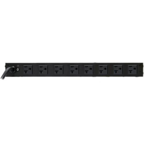 CyberPower RKBS20S2F8R 20A 10-Outlet 1U RM Rackbar Surge Suppressor