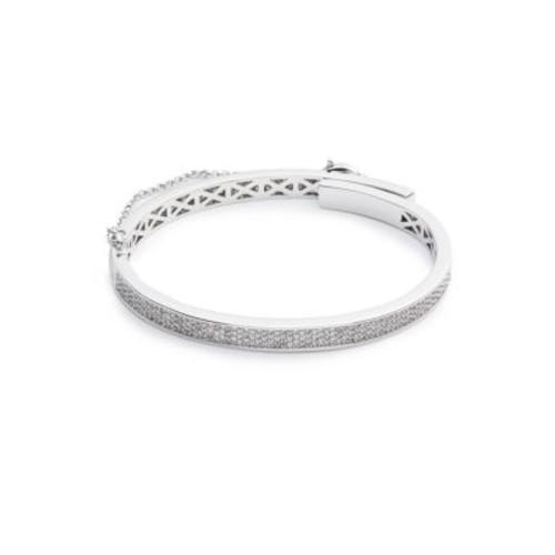 Thin Pav Safety Chain Bracelet