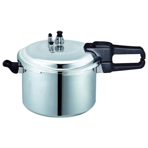 Brentwood - 5.5L Pressure Cooker - Silver