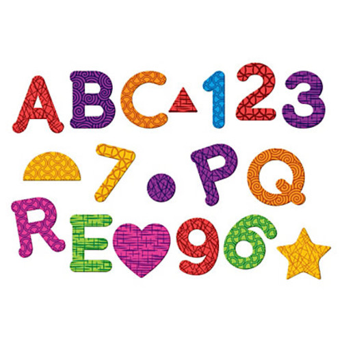 Learning Resources Magnetic Numbers Letters/Shapes Set - Theme/Subject: Learning - Skill Learning: Letter Recognition, Number Recognition, Shape, Counting - 55 Pieces - 3+