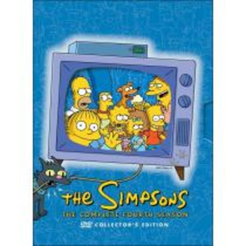 The Simpsons: The Complete Fourth Season [4 Discs] [DVD]