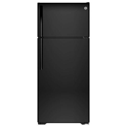 GIE18HGHBB 17.6 cu. ft. Top-Freezer Refrigerator - Black