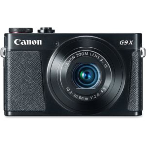 PowerShot G9 X Digital Camera (Black)