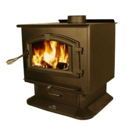 US Stove 2,500 sq. ft. EPA Certified Wood-Burning Stove with Blower