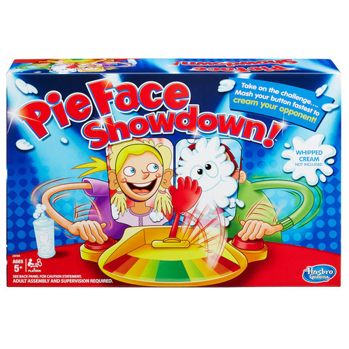 Hasbro Games Pie Face Showdown Game by Hasbro
