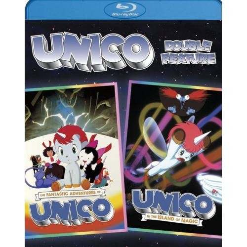 The Fantastic Adventures of Unico/Unico in the Island of Magic [Blu-ray]