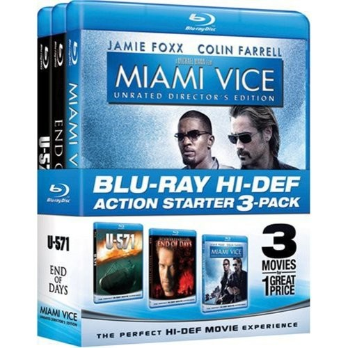 Action Starter Pack: (Miami Vice / End of Days / U-571)