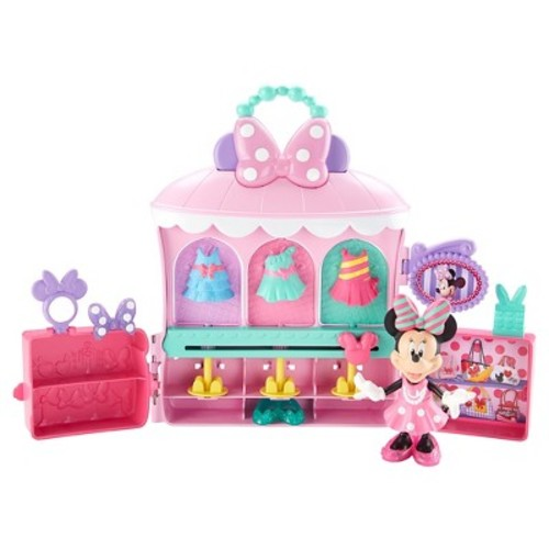 Disney's Minnie Mouse Sparkle n Spin Fashion Bowtique by Fisher-Price